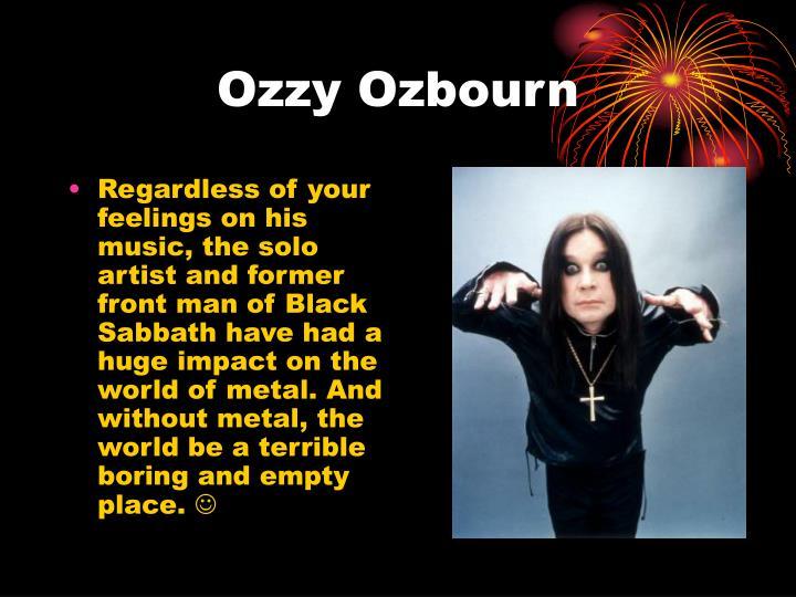 Ozzy Ozbourn