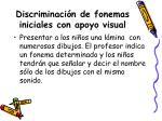 discriminaci n de fonemas iniciales con apoyo visual