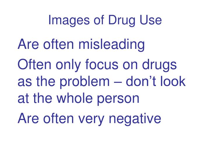 Images of drug use