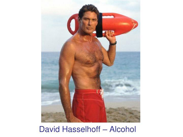 David Hasselhoff – Alcohol