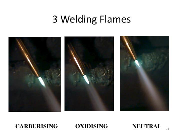 3 Welding Flames