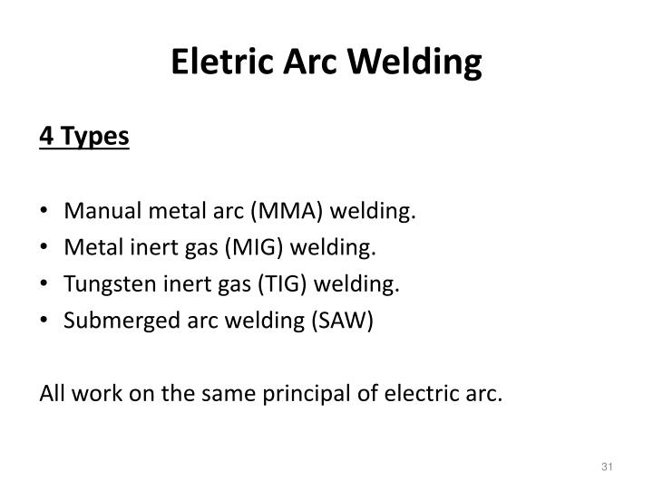 Eletric Arc Welding