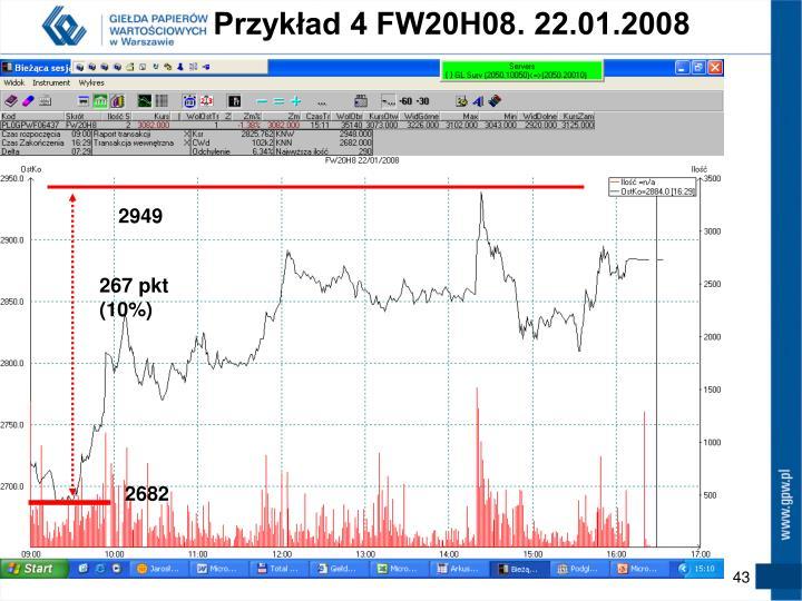 Przykład 4 FW20H08. 22.01.2008