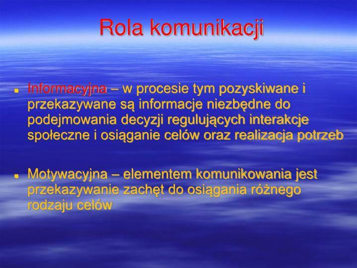 Informacyjna