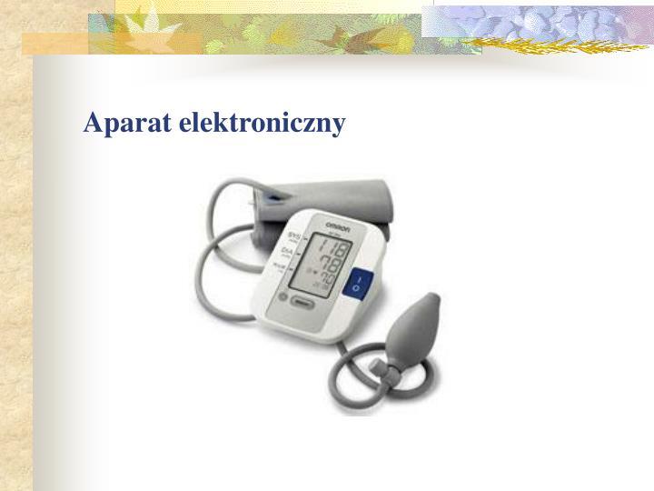 Aparat elektroniczny