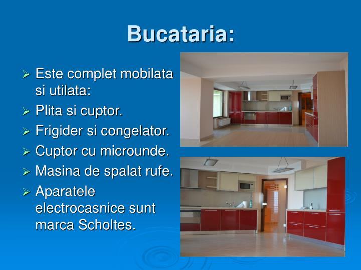 Bucataria: