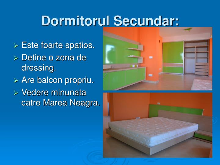 Dormitorul Secundar: