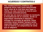 acuerdos y contratos 8
