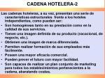 cadena hotelera 2