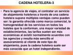 cadena hotelera 3