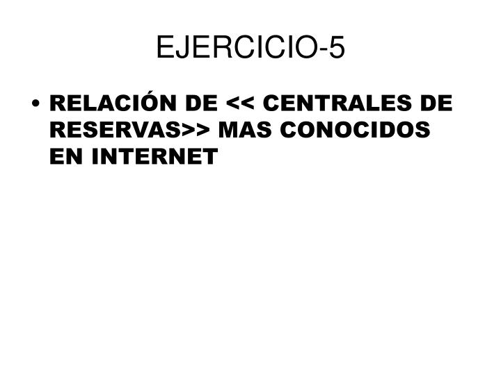 EJERCICIO-5