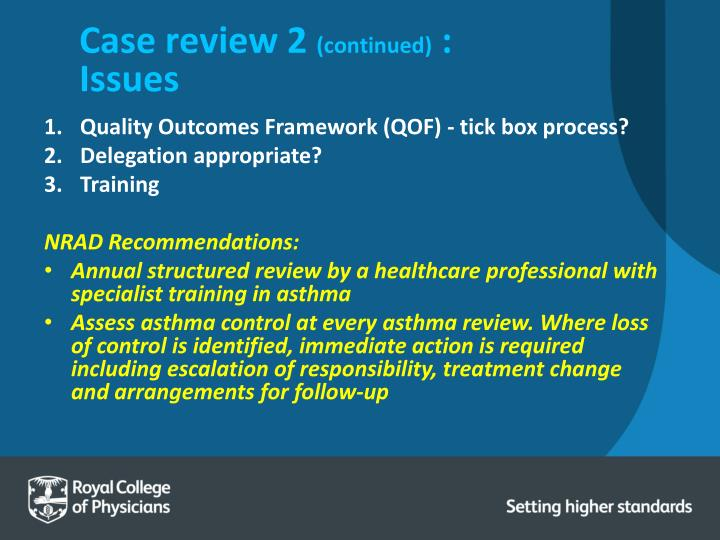 Case review 2