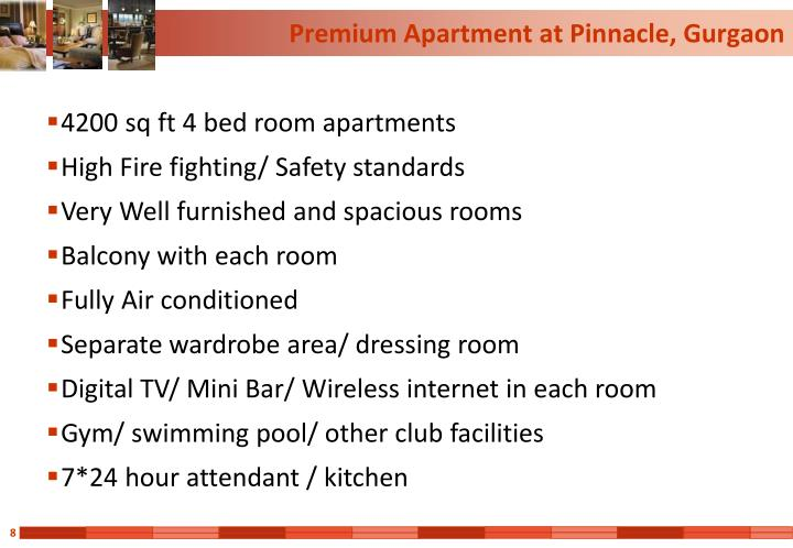Premium Apartment at Pinnacle, Gurgaon