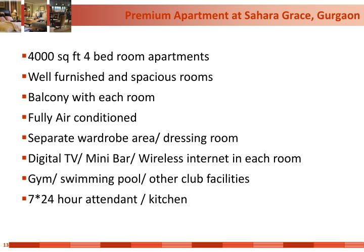 Premium Apartment at Sahara Grace, Gurgaon