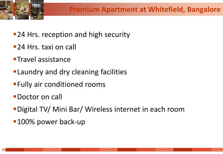 Premium Apartment at Whitefield, Bangalore