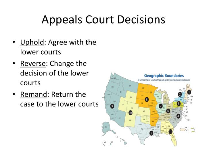 Appeals Court Decisions