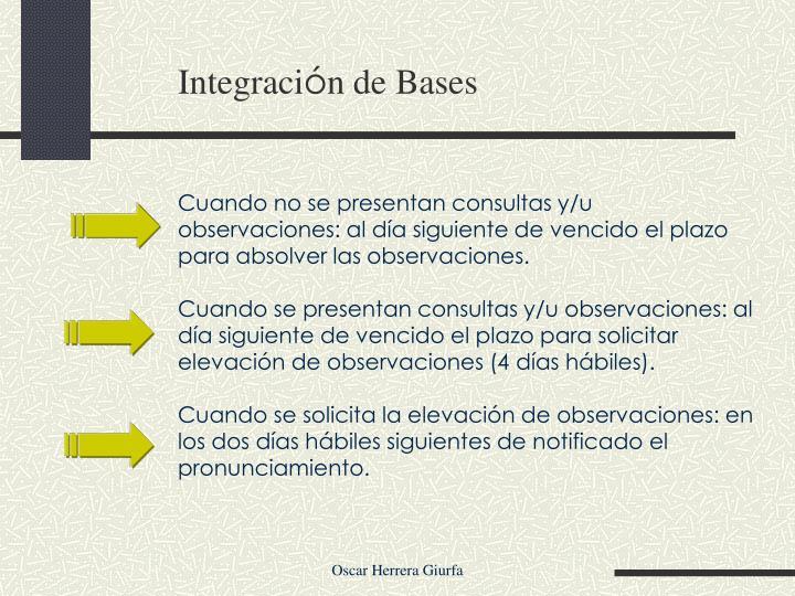 Integraci
