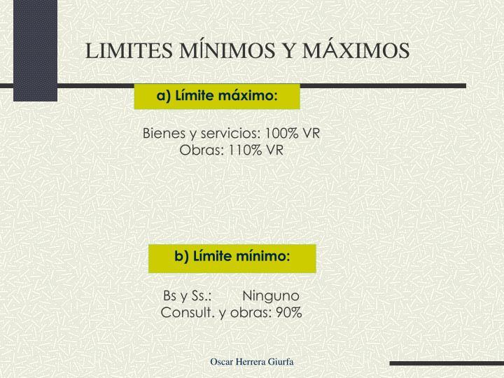 LIMITES M