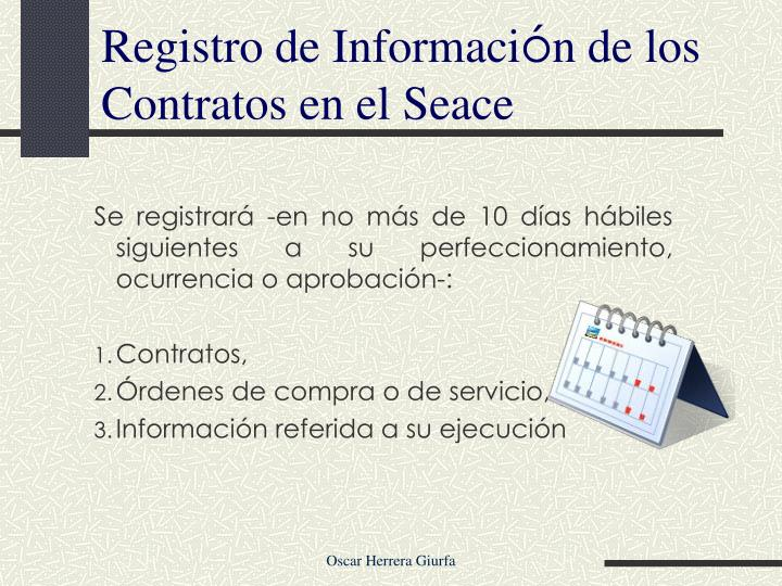 Registro de Informaci