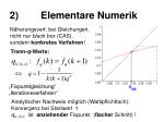 2 elementare numerik