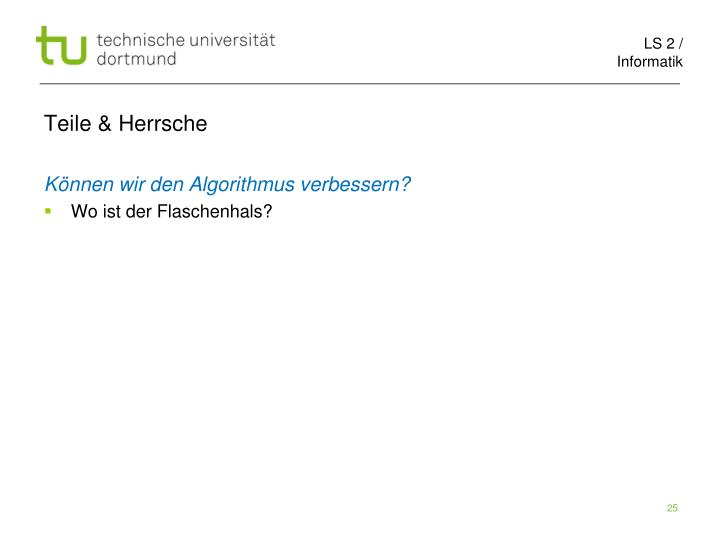 Teile & Herrsche