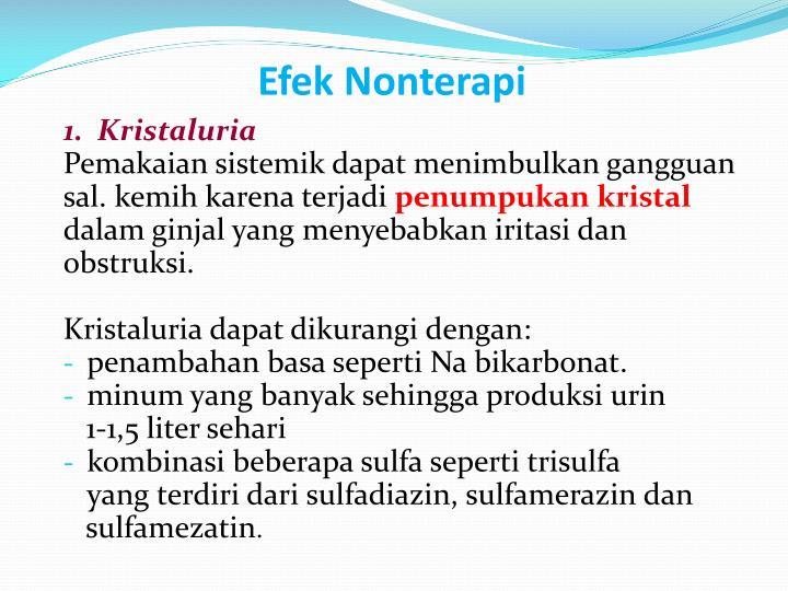Efek Nonterapi