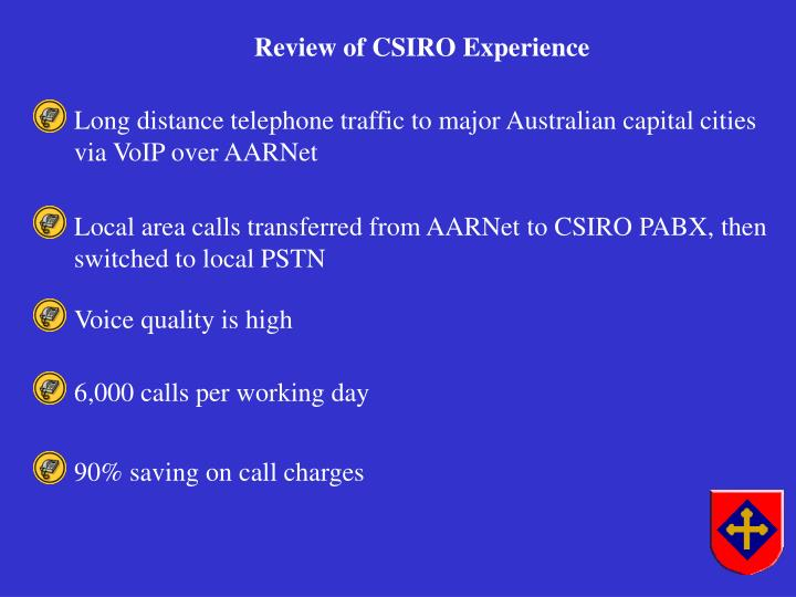 Long distance telephone traffic to major Australian capital cities