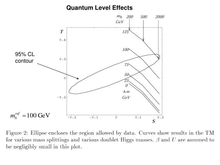Quantum Level Effects