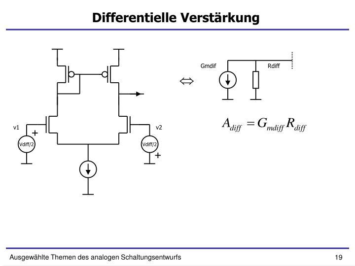 Differentielle Verstärkung