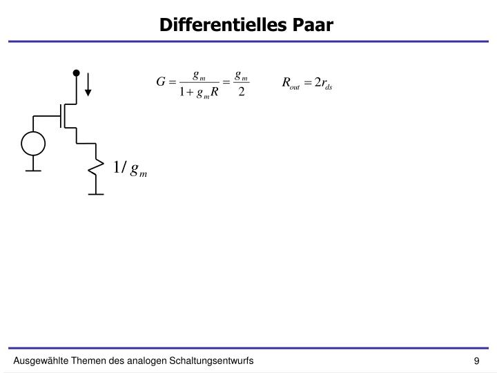 Differentielles Paar