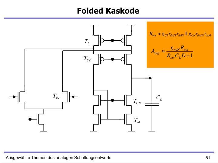 Folded Kaskode