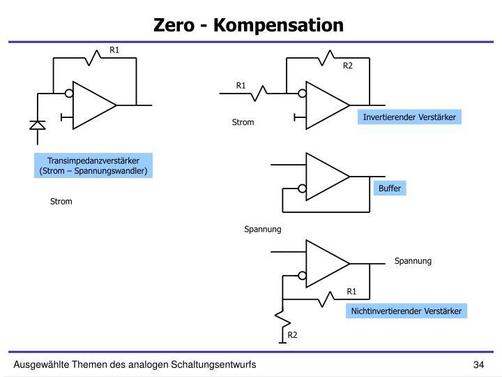 Zero - Kompensation