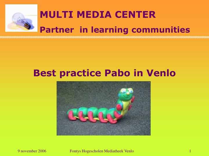 Best practice Pabo in Venlo