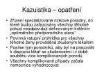 kazuistika opat en