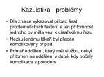 kazuistika probl my