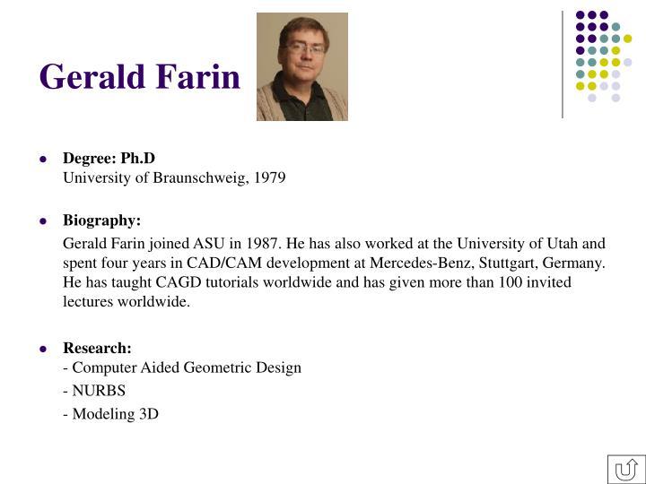 Gerald Farin