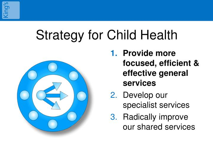 Strategy for Child Health