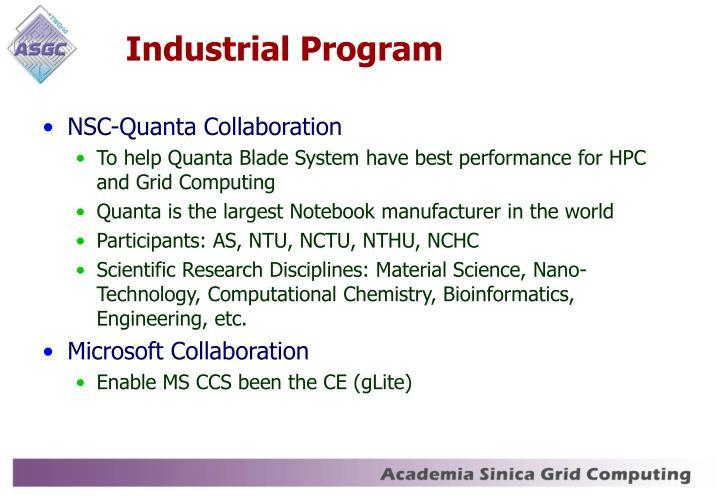 Industrial Program