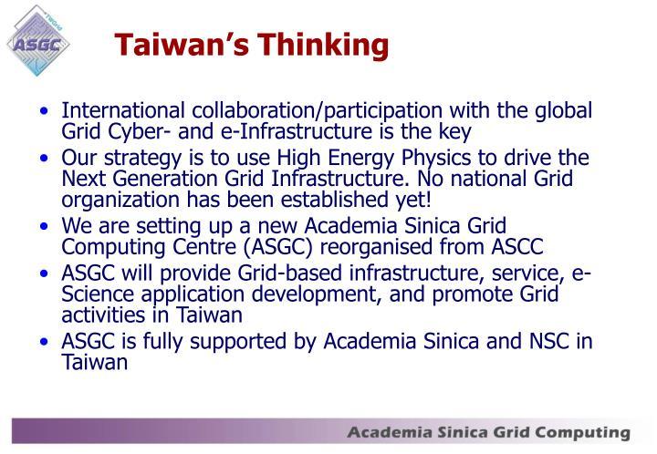Taiwan's Thinking