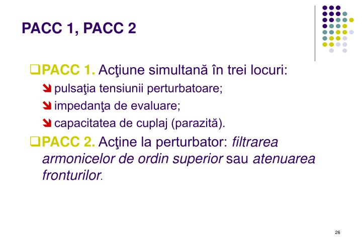 PACC 1, PACC 2