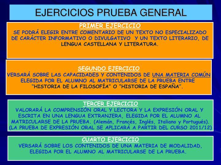 EJERCICIOS PRUEBA GENERAL