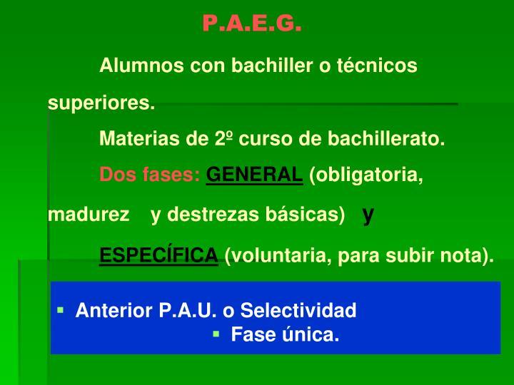 P.A.E.G.