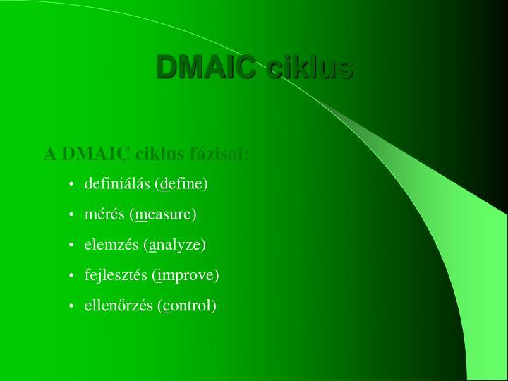 DMAIC ciklus