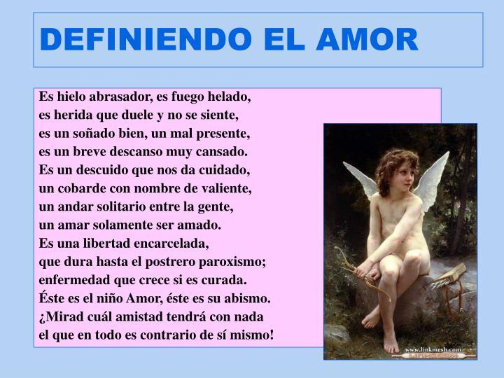 DEFINIENDO EL AMOR