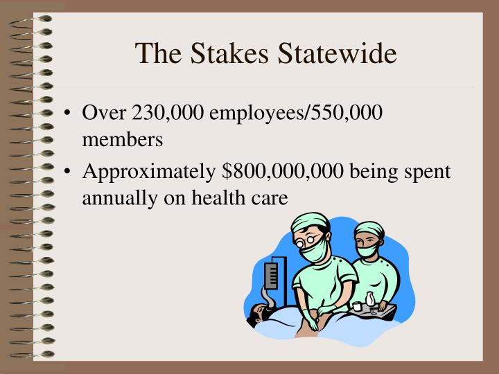 The Stakes Statewide