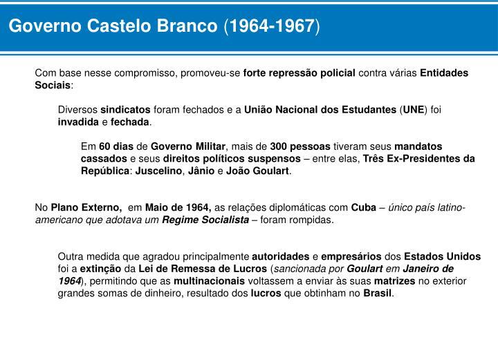 Governo Castelo Branco
