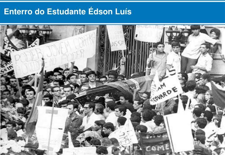 Enterro do Estudante Édson Luís