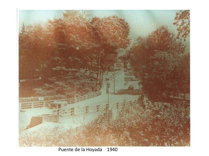 Puente de la Hoyada    1940