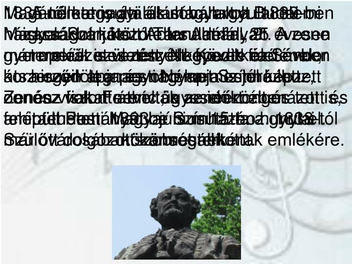A németgyulai és magyargyulai elemi iskolákban kezdte tanulmányait. A zene természetes részét képezte életének, hiszen apja és nagyapja is jól képzett zenész volt. Ferenc ügyesen zongorázott és a tudományát be is mutatta a gyulai közönségnek.
