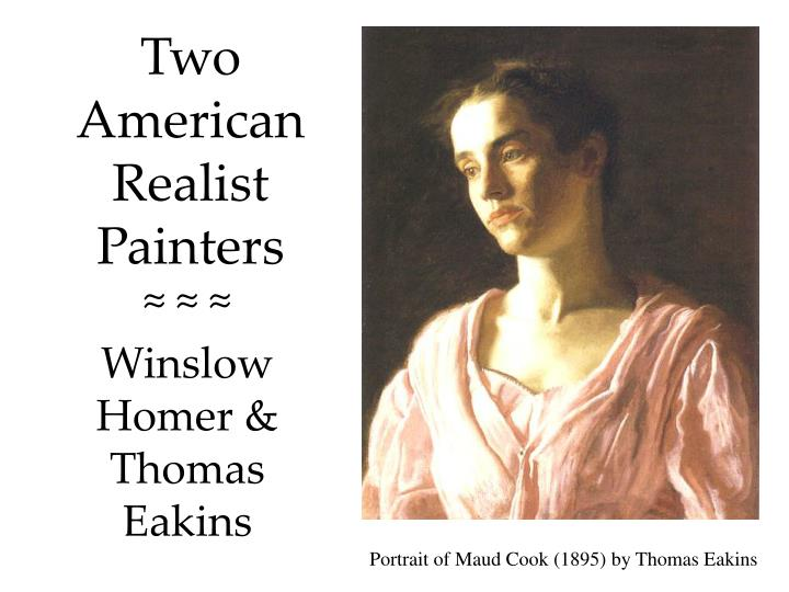 Two american realist painters